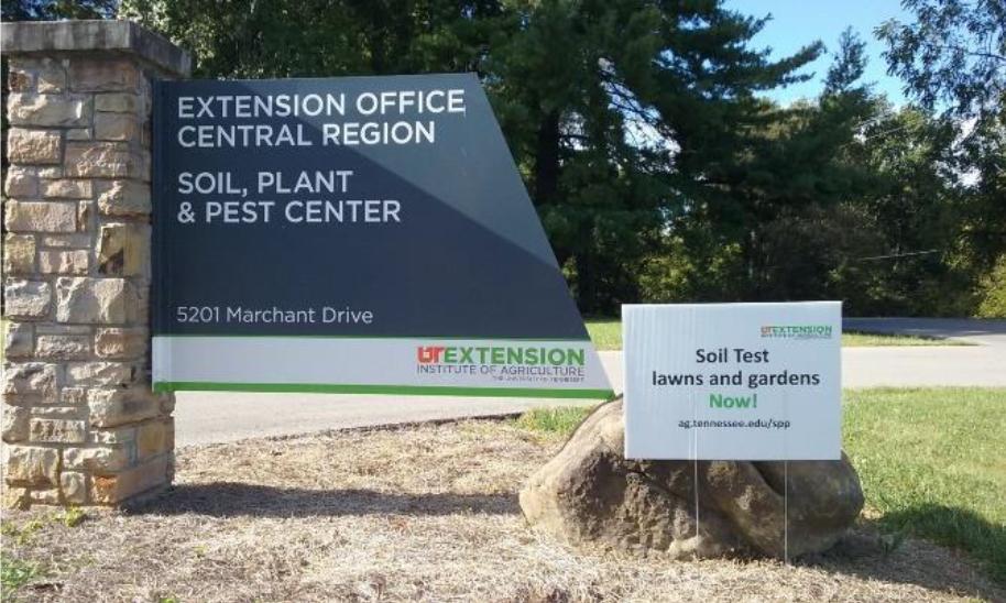 UT Extension Office Central Region - Soil, Plant & Pest Center